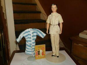 Vintage Remco Littlechap Doll Family ~Dr.John + Robe & Booklet