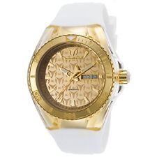 Lady's TechnoMarinE Cruise TM 115061 YELLOW GOLD band cover case 40MM NEW 115064