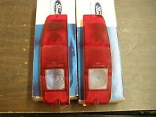 NOS OEM Ford 1967 1972 Truck Van Tail Light Lenses 1968 1969 1970 1971 Econoline
