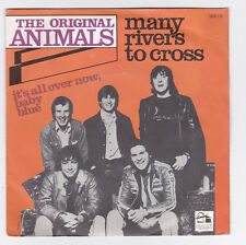 SP 45 TOURS THE ORIGINAL ANIMALS MANY RIVERS TO CROSS en 1977 BARN RECORDS LTD