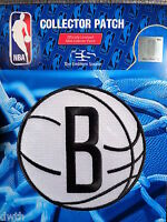 Official Licensed NBA Brooklyn Nets Alternate Logo Iron or Sew On Patch