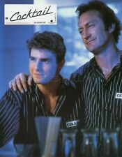 TOM CRUISE  BRYAN BROWN COCKTAIL1988 VINTAGE FRENCH LOBBY CARD #3