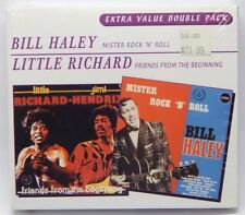 Little Richard & Jimi Hendrix: Friends From the Beginning / Bill Haley NEW 2-CDs