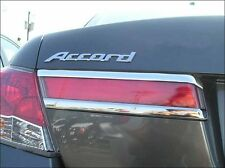 UPPER TAIL LIGHT CHROME WIDE TRIM KIT FITS 2011 2012 HONDA ACCORD 4 DOOR SEDAN