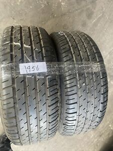 2x 225 55 ZR15 Michelin   Used  7/7mm (1956  ) Free Fitting Available