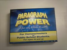 PARAGRAPH POWER-A FUN WAY TO LEARN  HOW TO WRITE A STORY-FOR AGES 10 AND UP