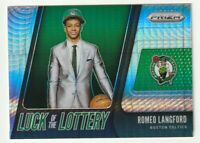 2019-20 Panini Prizm Rookie Hyper Silver RC Romeo Langford Luck of the Lottery
