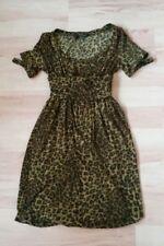 Robe PLEIN SUD JEANIUS imprimée léopard,femme/filleT.38 NEUVE