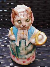 Beswick England Beatrix Potter COUSIN RIBBY Figurine GREEN EYES BP3A 1973/1974