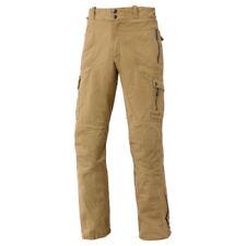 Pantaloni per motociclista uomo uomo marrone