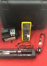 FLUKE 179 True RMS Multimeter w/Touch Tester, Snap-On Q Driver 4 & Torque Wrench