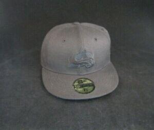 New Era Colorado Avalanche Hat sz 7 1/8