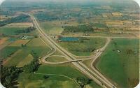 Postcard Indiana Toll Road, La Porte, IN