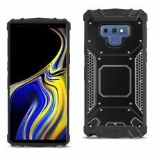 For Samsung Galaxy Note 9 Heavy Duty Rugged Armor Case with Metal Back Cover
