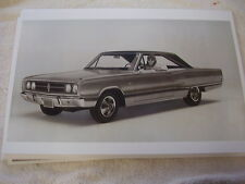 1967  DODGE CORONET 426 HEMI   11 X 17  PHOTO   PICTURE