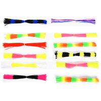 12 Bundles Tying Rubber Threads Straps for Flies Lures Beard wire Making OZ