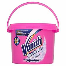 Vanish Oxi Action Tub Fabric Stain Remover Cleaner Removes Tough Stains - 2.4kg