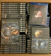 Atoning, Viking Quest and Supercollider DVD LOT 54 movies SEALED NEW