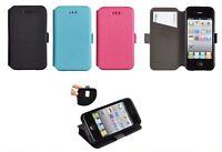 ^ 3/ Book Case Flexi Cover Etui Hülle Handy Tasche Schale Xiaomi Redmi Note 4