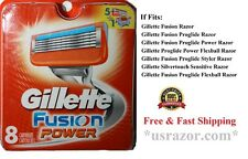 Gillette Fusion5 Power Razor Blade, 8 Cartridges