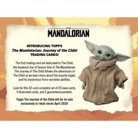 2020 Topps Star Wars: Mandalorian Journey of the Child - Baby Yoda Ships May
