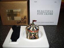 "Estee Lauder Solid Perfume Compact ""Circus Tent"" MIB"