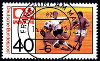 812 Vollstempel gestempelt EST Ersttag mit Gummi BRD Bund Deutschland 1974