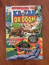 Marvel ASTONISHING TALES #1 (1970) KA-ZAR & DOCTOR DOOM    GREAT!