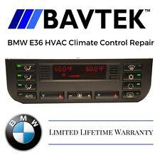 BMW 1996 - 1999 E36 M3 HVAC CLIMATE CONTROL UNIT AC HEATER - REPAIR SERVICE FIX