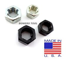 Jawco #455 Wheel Stud Hex Die Set Thread Restore 4pc 1/2-20 9/16-18 MADE IN USA