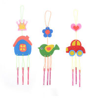 Kids  Puzzle Toys for Kids Wind Chime Manual Crafts Hanging Kits Toys Random FT