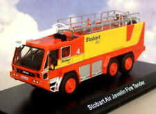 NICE ATLAS 1/76 WORLD OF EDDIE STOBART AIR JAVELIN AIRPORT FIRE & RESCUE TENDER