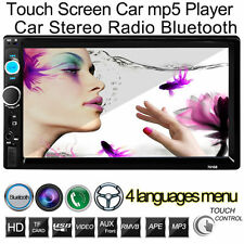 """7"""" 2Din Car Mp5 Player In Dash Stereo Lcd Touch Screen Bluetooth Radio Sd/Mmc"""
