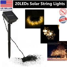 20 LEDs Moroccan Solar Garden String Lights Hanging Lantern Fairy Lights Outdoor