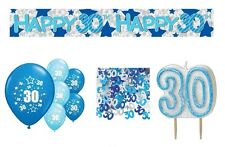 30th BIRTHDAY PARTY PACK DECORATIONS BANNER BALLOONS (AP.B.5)