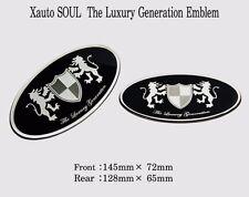 Art X Generation Front + Rear EMBLEM Badge 2EA for KIA Soul 2009 2013
