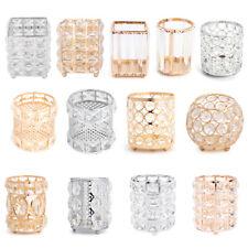European Style Square Round Crystal Makeup Brush Storage Box Jewelry Organizer