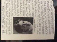 m10-9c ephemera 1905 article small frau von bohlen halbach