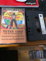 PETER TOSH NO NUCLEAR WAR  Michael 1040 Cassette Tape