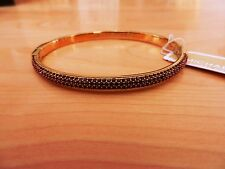 Michael Kors Authentic Gold-Tone Iris Colored Crystal Cuff Bracelet  MSRP $145