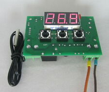 DC12V Heat cool Thermostat temperature temp control switch -50-110℃+NTC sensor