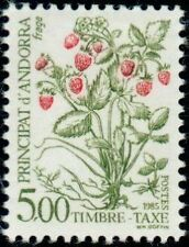 """ANDORRE FRANCAIS STAMP TIMBRE TAXE N°62 """" BAIES SAUVAGES 5F """" NEUF xx TTB"""