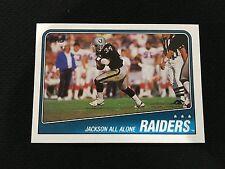 BO JACKSON ROOKIE 1988 TOPPS OAKLAND RAIDERS TEAM RC FOOTBALL CARD