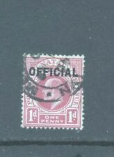 South Africa Natal KEVII 1d with Official overprint, Fine Used.