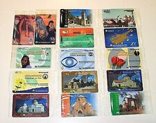 Cyprus COMPLETE set 15 SPECIMEN PHONE CARDS CYTA TELECARDS SEALED UNOPENED RRR
