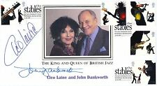 Buckingham Cover Jazz Royalty Sir John & Dame Cleo signed by Dankworth and Laine