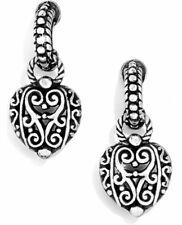 Brighton Bibi Heart Post Earrings - J14960 - Silver