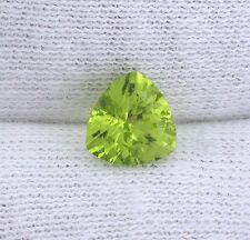 ONE 7mm Trillion San Carlos Arizona Olive Peridot Gem Stone Gemstone EBS2899APL