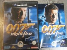 JAMES BOND 007 NIGHTFIRE NINTENDO GAMECUBE GAME CUBE