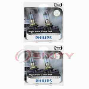 2 pc Philips Low Beam Headlight Bulbs for Mazda 626 929 Miata Millenia of